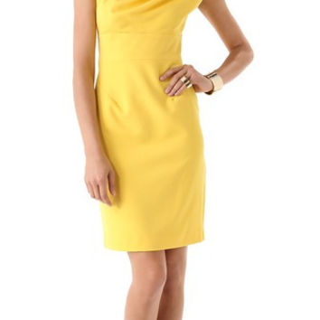 Black Halo Alexander (Yellow) - Size 8 - New