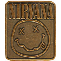 Nirvana Men's Belt Buckle Brown