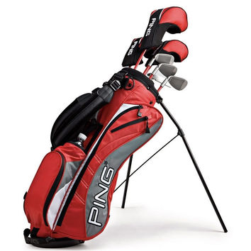 PING MOXIE G JUNIOR COMPLETE GOLF SET - RIGHT HAND