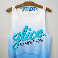 Glice to Meet you Crop | fresh-tops.com