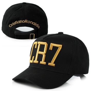 Newest Style Cristiano Ronaldo CR7 Hats Baseball Caps