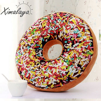 New Donuts Pillow High Quality Cushion Decorative Pillows on The Sofa Cushions Cozy Work Siesta Donut Cushion BZ013a