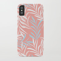 Tender Leaves iPhone Case by mirimo