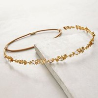 Jennifer Behr Psychic Garden Halo Headband in Gold Size: One Size Hair