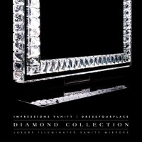 Diamond Collection PRINCESS Premium Illuminated Vanity Mirror - Impressions Vanity Co.