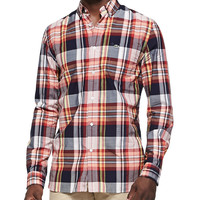 Men's Plaid Button-Down Shirt, Multi - Lacoste - Multi