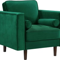 Emily Green Velvet Chair