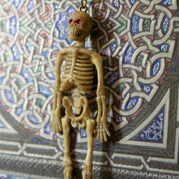 skeleton dead toy halloween creepycute goth gothic occult 666 statement fashion creepy scary