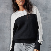 Mixed-stitch Colorblock Sweater - Victoria's Secret