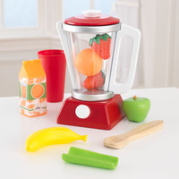 KidKraft Red & White Smoothie Set - 63378