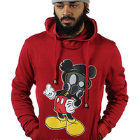 F YOU MICKEY Red Hoodie