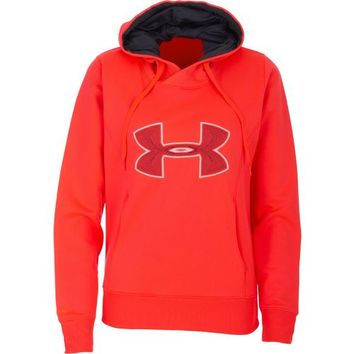 Under Armour® Women's Armour® Fleece Storm Embroidery Big Logo Hoodie
