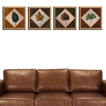 4 piece New MODERN ABSTRACT CANVAS ART wall paintings for home decor idea oil painting art print on canvas No Framed !