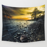 Aureus Wall Tapestry by HappyMelvin