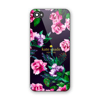 Kate Spade Beauty Pink Floral Hard Plastic Case For iPhone 6s, 6s plus, 7