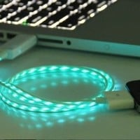 LED iphone 4s usb cable,iphone 4 usb cable,iphone cable by fancygoods | Society6