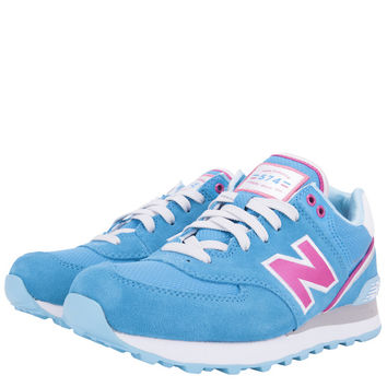 SHOES - KIDS - GRADE SCHOOL - New Balance Kids 574 Grade School - Pink Blue - Buy Online at DTLR