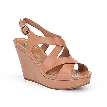 GB Jet-Set Wedge Sandals