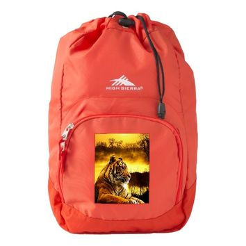 Tiger and Sunset High Sierra Backpack