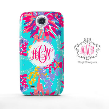 Trippin and Sippin Lilly Pulitzer Monogram Samsung Galaxy S6 Case, Galaxy Note 4 Case