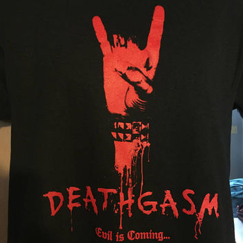Deathgasm - Evil Is Coming T-shirt *FREE SHIPPING* LIMITED