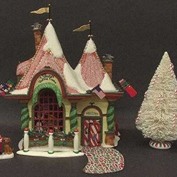Department 56 North Pole Santa's Visiting Center