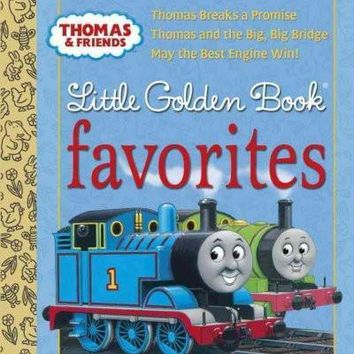 Thomas and Friends Little Golden Book Favorites: Thomas Breaks a Promise / Thomas and the Big, Big Bridge / May the Best Engine Win! (Little Golden Book Favorites)