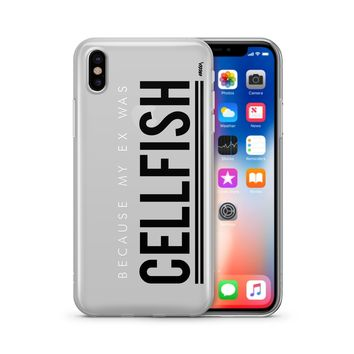 Cellfish - Clear TPU Case Cover