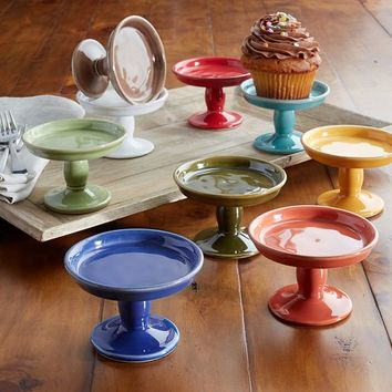 CAMBRIA MINI SERVE FOOTED CUPCAKE STAND