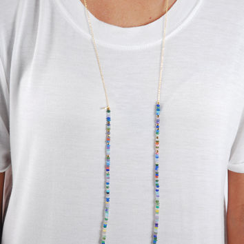 Simple Strand Necklace - Multi