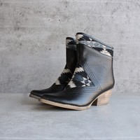 "sbicca - ""sookies"" black southwest ankle boots - black"