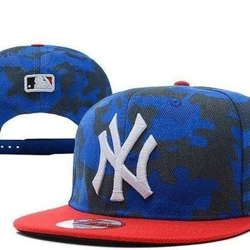 DCCKUN7 Mlb New York Yankees Cap Snapback Hat - Ready Stock