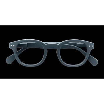 Izipizi - #C Grey  Eyeglasses / Screen Blue Light Clear Lenses