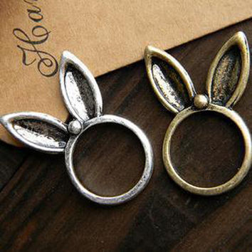 Stylish New Arrival Gift Shiny Jewelry Vintage Lovely Rabbit Simple Design Accessory Ring [6586343175]