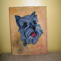 12-0815 Anonymous Painting of Scottish Terrier