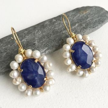 Handcrafted Earrings - The Azure