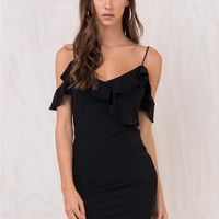 Motel Black Chaney Dress