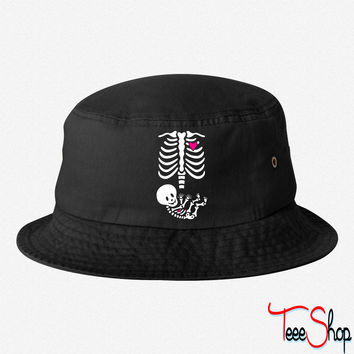 Full Maternity Skeleton X ray MP - Copy bucket hat