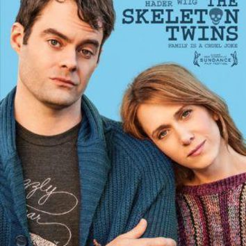 Skeleton Twins Movie poster Metal Sign Wall Art 8in x 12in