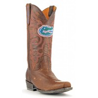 Gameday Boots Mens Leather University Of Florida Board Room Cowboy Boots