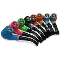 Silicone Old School Hand Pipe
