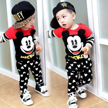 Mickey Mouse Baby Outfit 2 Pc