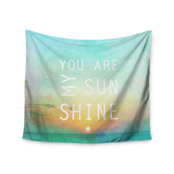 "Alison Coxon ""You Are My Sunshine"" Wall Tapestry"