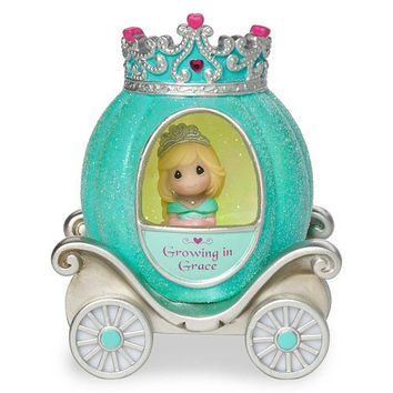 Precious Moments Pretty as a Princess Grace Princess Carriage Light Up Figurine