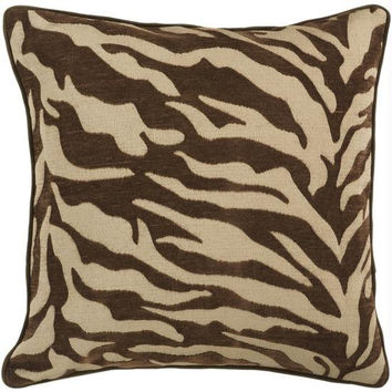 Animal Print Throw Pillow - Candice Olson Design
