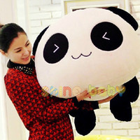 Plush Doll Toy Stuffed Animal Cute Panda Pillow Quality Bolster Gift 70cm 28""
