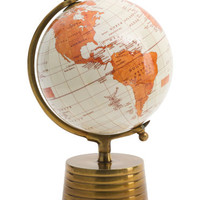 Made In India 8in Brass Base Globe - Man Cave - T.J.Maxx