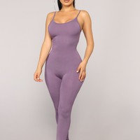 Nova Season Jumpsuit - Plum