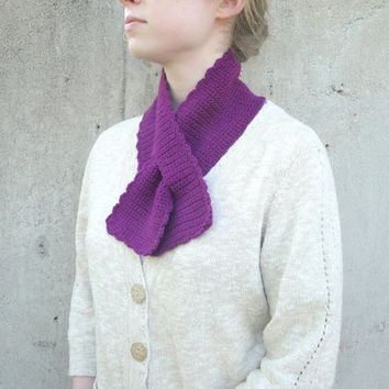 Knitting Pattern For Pull Through Scarf : Best Pull Through Scarf Products on Wanelo