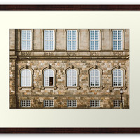 'Cleaning Windows' Framed Print by Errne